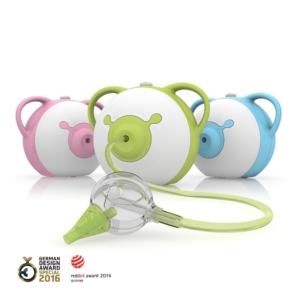 Elektrischer Nasensauger für Babys von Nosiboo