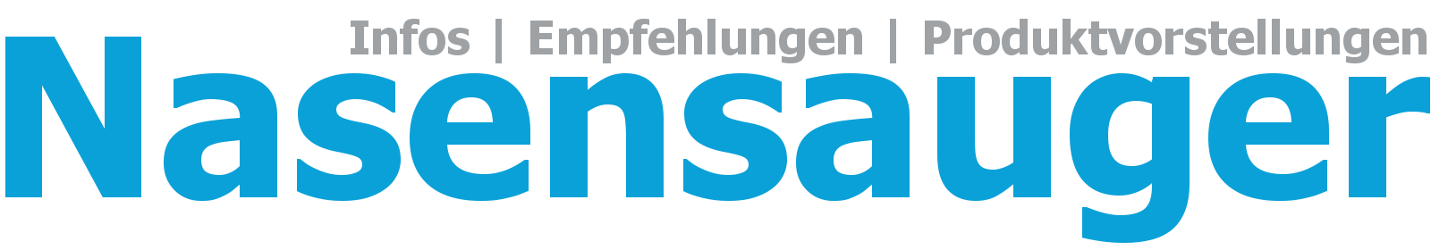 Nasensauger für Babys Logo