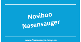 Nosiboo Nasensauger für Babys - Marke